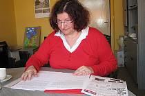 Marcela Bergerová, členka petičního výboru