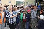 Prázdniny začaly, děti odjely na skautský tábor