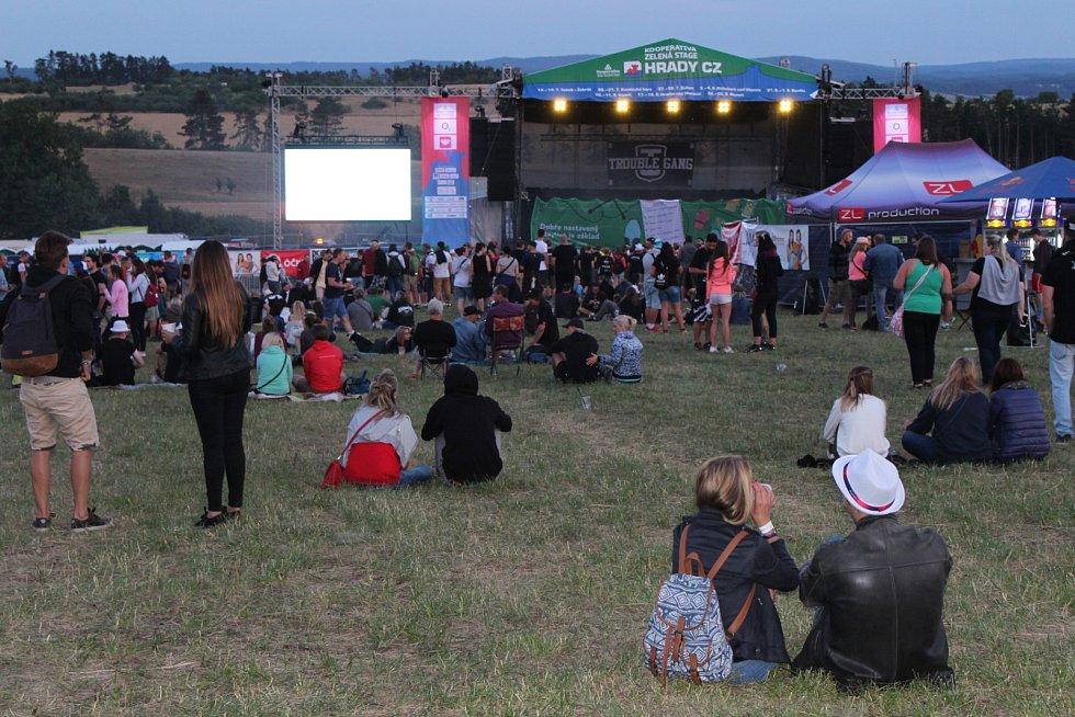 V pátek odstartoval oblíbený festival pod hradem Točníkem.