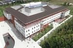 Vizualizace: Centrum duševní rehabilitace v areálu berounské nemocnice.