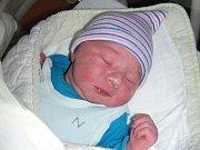 JMENUJI SE Vincent Sebastian Chury a na svět jsem přišel v hořovické porodnici U Sluneční brány. Maminka Michaela a tatínek Vincent si mě odvezli z porodnice domů do Vysokého Újezdu.