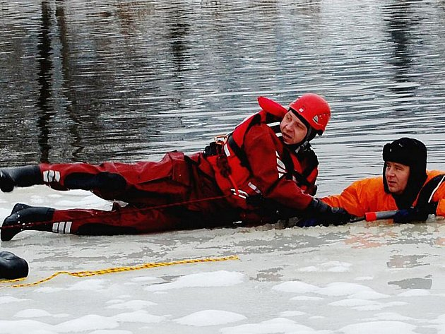 Hasiči nacvičovali záchranu  osob.