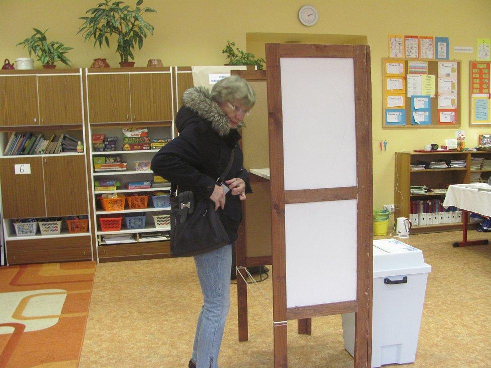 Druhé kolo voleb do senátu v Berouně