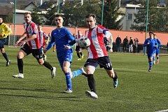 Berounští fotbalisté přehráli na Máchovně Nespeky.