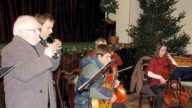 Novoroční setkání v Lochovickém zámku