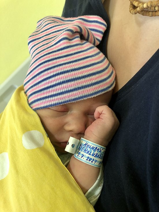 Matyas Holubář se narodil 2. července 2021. Po narození vážil 3 670g. Bydlí s maminkou Stefanií a tatínkem Petrem ve Lhotě Veselce.