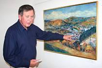 Malíř Karel Souček zůstává věrný svému Berounu
