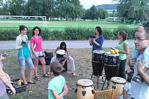 Perkuse na břehu Berounky