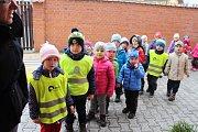 Otevření nové přístavby Mateřské školy Beroun Závodí ve Vrchlického ulici se zúčastnili zástupci města.