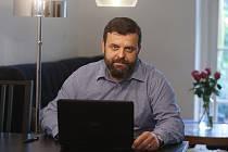 Ředitel Charity v Berouně Petr Horák.