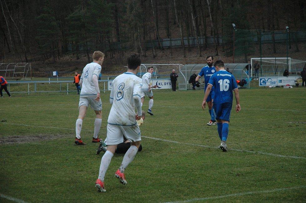 Modrému Hořovicku se proti Pražanům nedařilo.