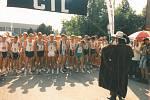 Slavnostní start Žebrácké pětadvacítky v roce 1997.