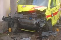 Havárie u obce Neumětely na Berounsku