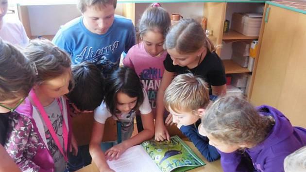 Pohádkové příběhy o přírodě ve školní družině ZŠ Beroun - Závodí.