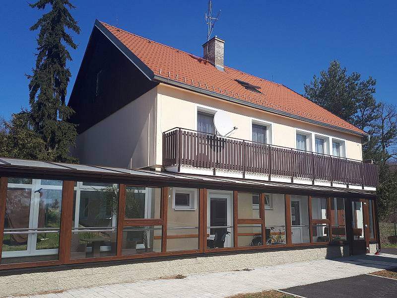 Rodinný domek pro klienty Domova Leontýn.