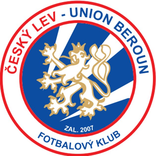 Logo klubu, který vznikl sloučením Českého lva Beroun a KDC Beroun.