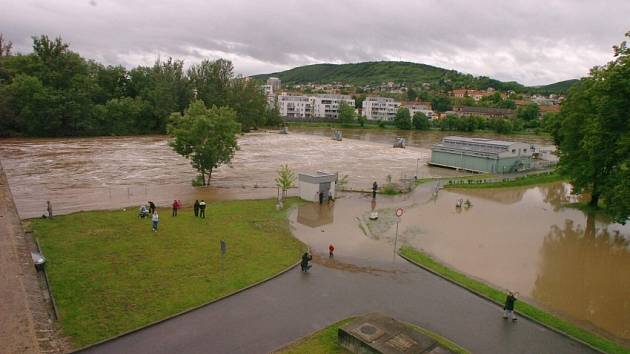 Povodeň na Berounce