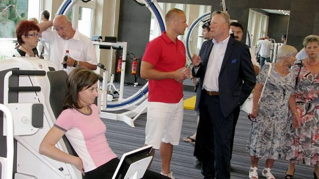 Slavnostní otevření Rehabilitačního centra berounské nemocnice se konalo 13. června