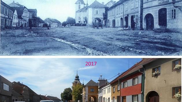 Náměstí Kapitána Kučery. Foto: Václav Víšek