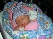 PRVOROZENÁ dcera Viktorie se narodila 25. prosince 2017 mamince Radce a tatínkovi Ondřejovi. Rodina má domov v Praze.