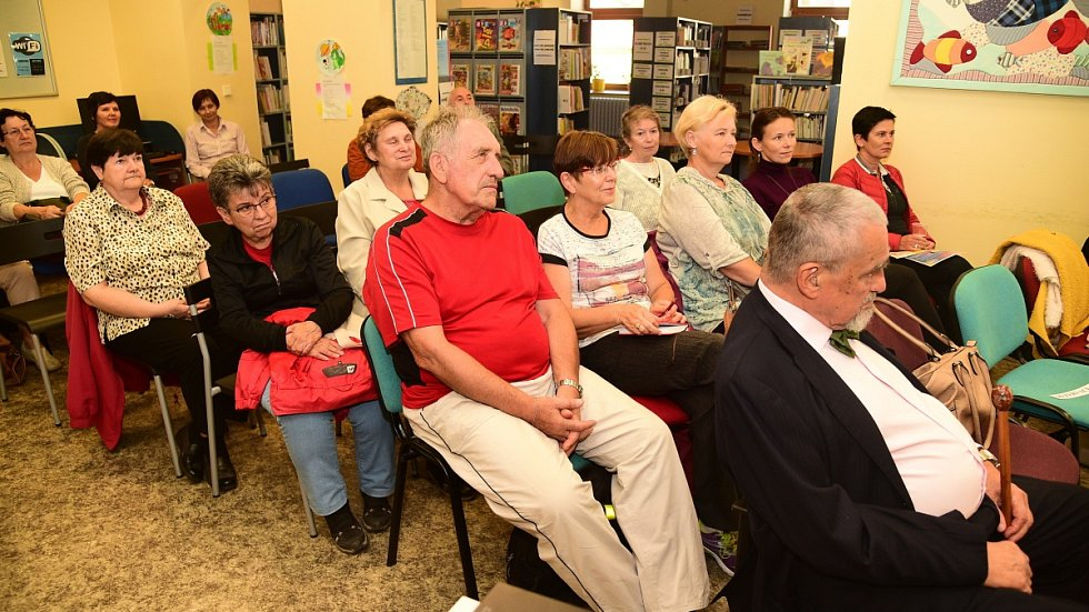 Z přednášky 'Od svaté Ludmily k dnešku II' v berounské knihovně za účasti knížete Karla Schwarzenberga.