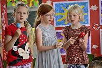 Ze slavnostního rozloučení s předškoláky v Mateřské škole Sluníčko v Berouně.