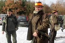 Odstřel divočáků u Kublova