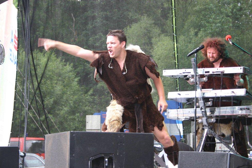 Skupina Monkey Business řádila na pódiu