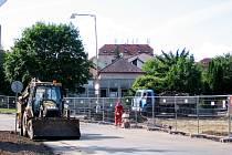 Rekonstrukce nádraží omezila v Hořovicích doopravu