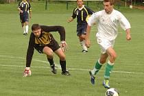 Fotbalisté Loděnice v prvním kole I.A třídy porazili Vonoklasy 3:1.
