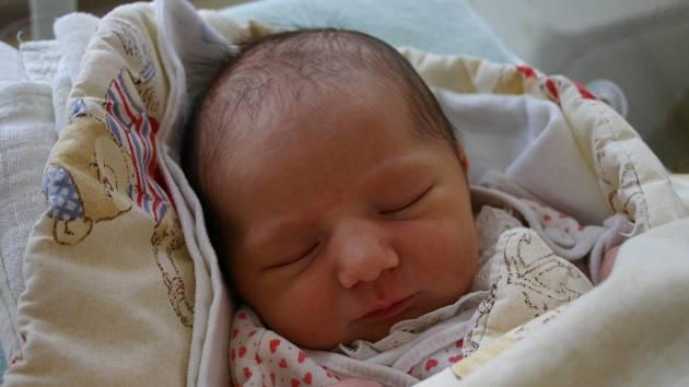 Dcera Antonie se narodila 21. listopadu Kateřině a Petrovi Tomečkovým z Jinců. Jejich holčička po narození vážila 3,17 kilogramu a měřila 49 centimetrů