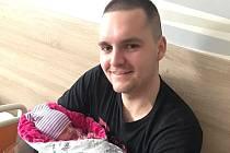 Adam Větrovský s dcerou Miou stráví šampionát hlavně doma.
