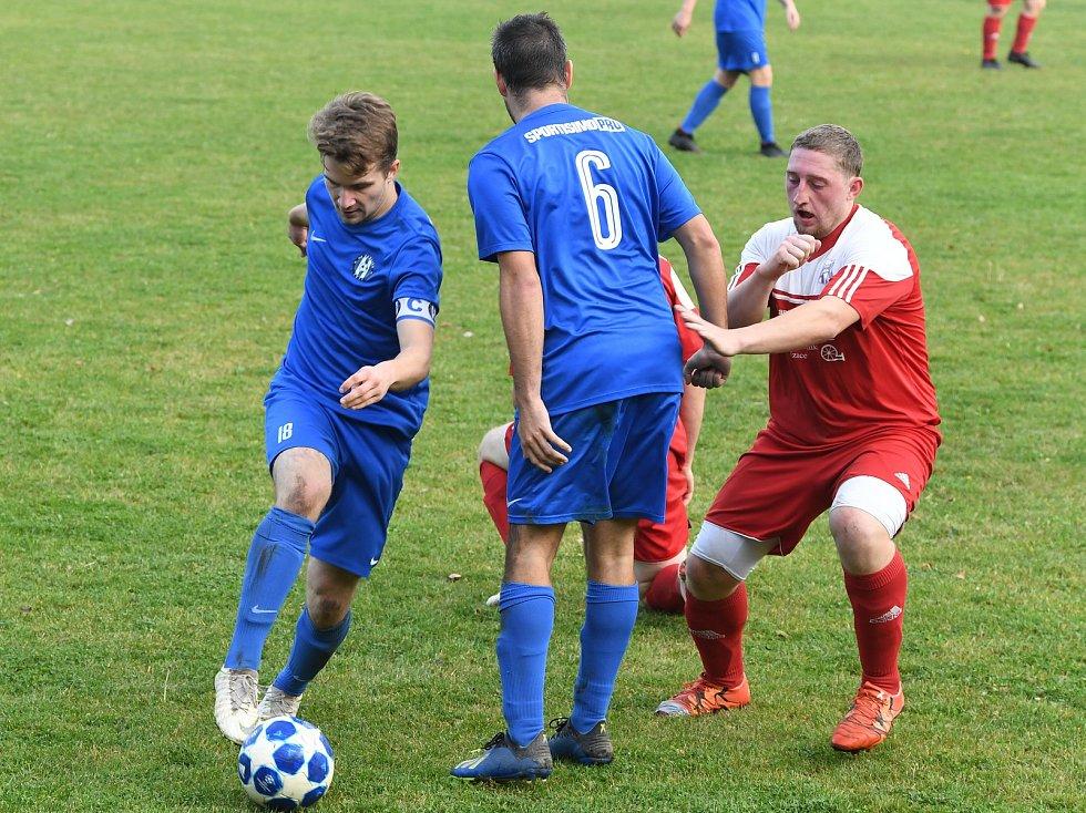 Fotbalová III. třída: Hudlice - Všeradice 3:2.