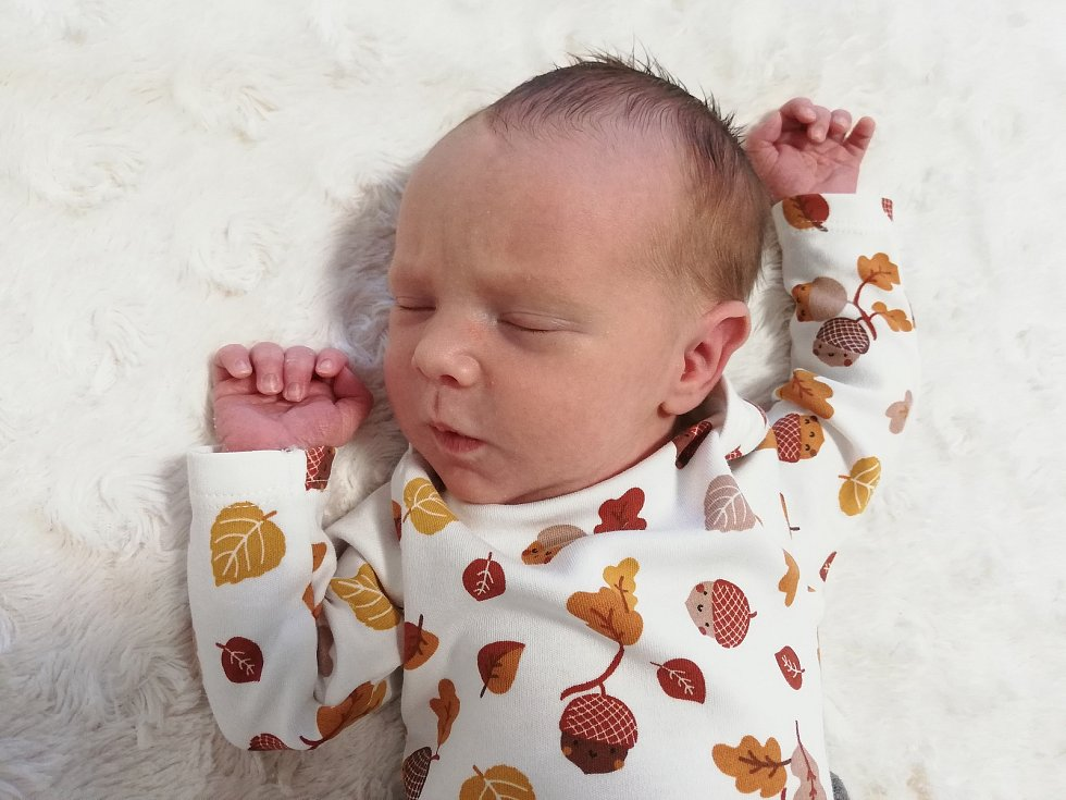 Oliver Krása se narodil 2. května v příbramské porodnici. Po porodu vážil 3000 g a měřil 52 cm. Doma ve Svatém Poli se o něj starají maminka Magda Krásová, tatínek Lukáš Krása a tříletý bráška Kryštof.