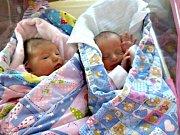 DVOJČÁTKA, Veronika a Magdaléna, se narodila 26. února 2018 Kateřině a Martinovi Jirákovým ze Bzové u Hořovic. Verunka přišla na svět s váhou 2,88 kg a mírou 46 cm. Magdička vážila 2,21 kg a měřila 44 cm. Prvorozené dcerky dělají manželům velkou radost.