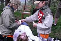 Školáci se procvičili ve zdravovědě.
