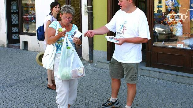 Obyvatelé Berouna reagovali na pouliční kampaň vesměs pozitivně.