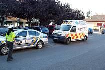 Dopravní nehoda v Dobřichovicích