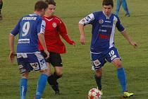Králodvorští fotbalisté porazili Chrudim 2:0.