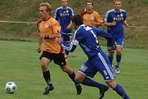 Fotbalisté Vyšehradu sice na půdě Hořovicka v prvním kole poháru vedli 1:0, domácí fotbalisté ale ve druhém poločase výborným výkonem utkání otočili a vyhráli 4:2.
