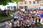 Děti prvního oddělení školní družiny ZŠ Beroun - Závodí se zúčastnily akce Na kole dětem.