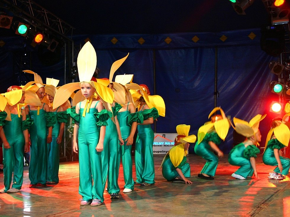 Na akci Tanečního centra R.A.K. Beroun se představilo 28 choreografií.