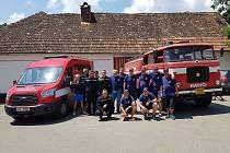 Dobrovolní hasiči ve Všeradicích jsou tým lidí, kteří se na sebe mohou spolehnout.