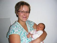 Jméno Veronika vybrali šťastní rodiče Štěpánka Krejčová a Martin Mašek pro prvorozenou dcerku, která se narodila 30. srpna a v ten den vážila 3,35 kg a měřila 52 cm. Domov má novopečená rodinka v Plané.
