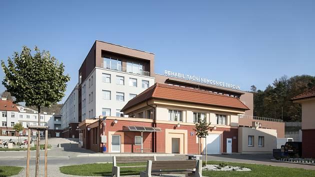Rehabilitační nemocnice v Berouně.