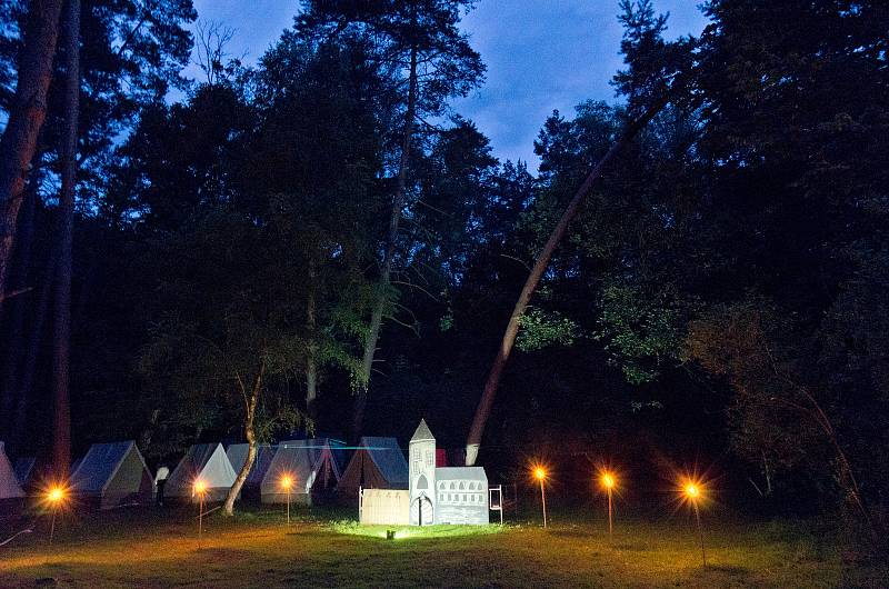 Letní tábor Zálesák - 2. běh.