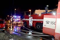 Požár berounské truhlárny