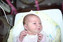 4,57 kg vážila a 56 cm měřila Nelinka Kratochvílová, která se prvně koukla na svět ve čtvrtek 19. 3. Maminka Dita a tatínek Jakub si svoji princezničku odvezou domů do Líšné.