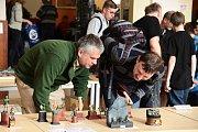 Modeláři z celých Čech se sešli na tradiční výstavě modelů ve Zdicích