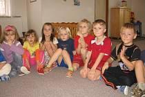 V nově zrekonstruované mateřské škole v Počaplech se dětem moc líbí